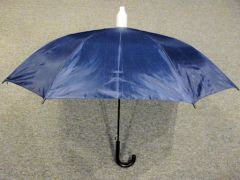 Blue No-Drip Umbrella - with Black Handle