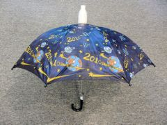Children's Dark Blue No-Drip Umbrella - Hi-Tech/Space theme